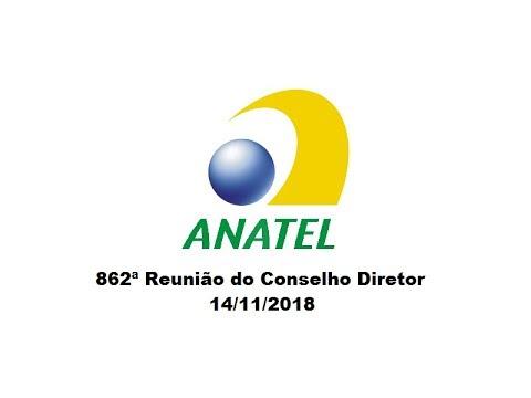 862ª Reunião do Conselho Diretor, de 14/11/2018