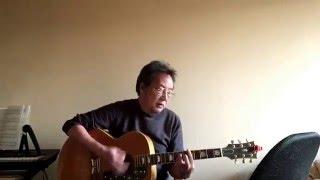 加藤和彦さん(サディスティックミカバンド)の「さよなら」をコピーし...