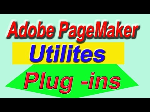 4  - Options of Utilites Plug -  ins In Adobe Pagemaker 7.0