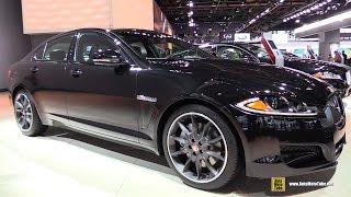 2015 Jaguar XF 3.0 - Exterior and Interior Walkaround - 2015 Detroit Auto Show