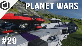 Space Engineers | PLANET WARS - EP 29 | The Oncoming Storm!