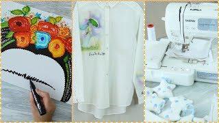 ManosalaObraTv 2018 Programa 13 - Inspiración Frida- Souvenirs Bordados - Pintar Camisa