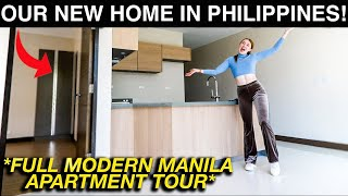 Full MANILA Empty CONDO TOUR! Revealing Our New Home in Philippines