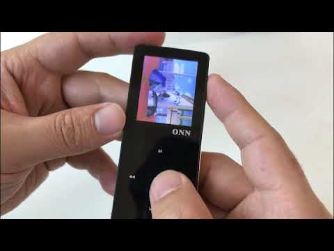 ONN W6 MP3 Player demonstration