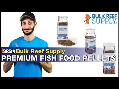 We Have Our Own BRS Saltwater Fish Food Pellets! High Protein & Fat For Your High Energy Reef Fish.