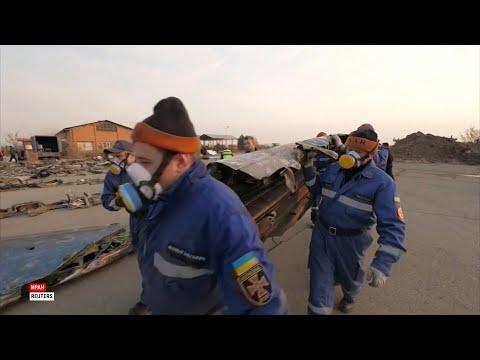 Украинские эксперты обследовали сбитый в Иране лайнер