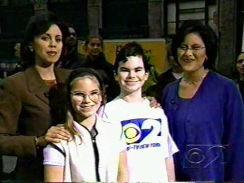 Two Lucky Young Fans Meet Cindy, Dana and Ira