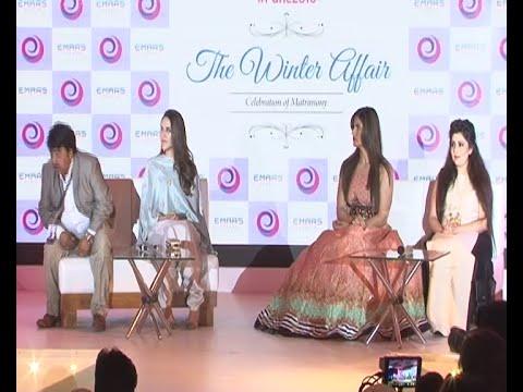 Neha Dhupia ,Zarine Khan  & Archana Kochhar At Pune Bridal Extravaganza  2016