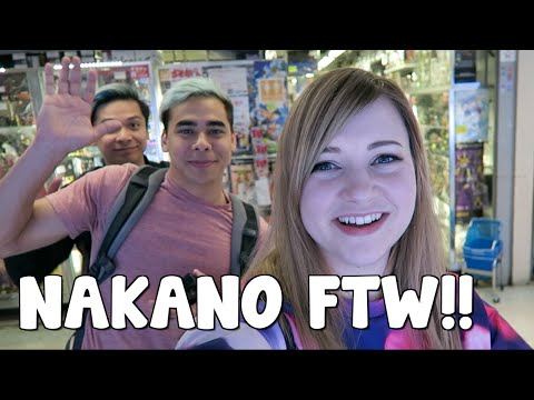 NAKANO BROADWAY ADVENTURE TIME w/ CarFlo + Chrisandthemike