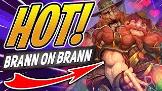 HOT Brann on Brann Action - Uncensored/NSFW/18+ | Hearthstone Battlegrounds | Auto Battler