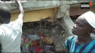 Female Pupil Rescued From Rubble Of Lagos Island Building Collapse