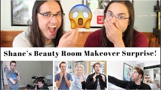 Shane's Beauty Room Makeover Surprise! I Our Reaction / TWIN WORLD