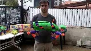 רובה מים כפול נטען! נדיר ביותר! כזה שלא תמצאו בזאפ