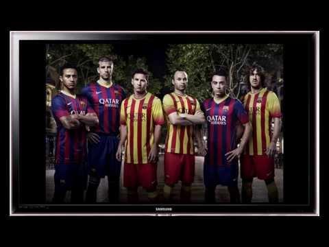 Nueva Camiseta Barcelona 2013/14 -  New Barcelona Jersey 2013-2014