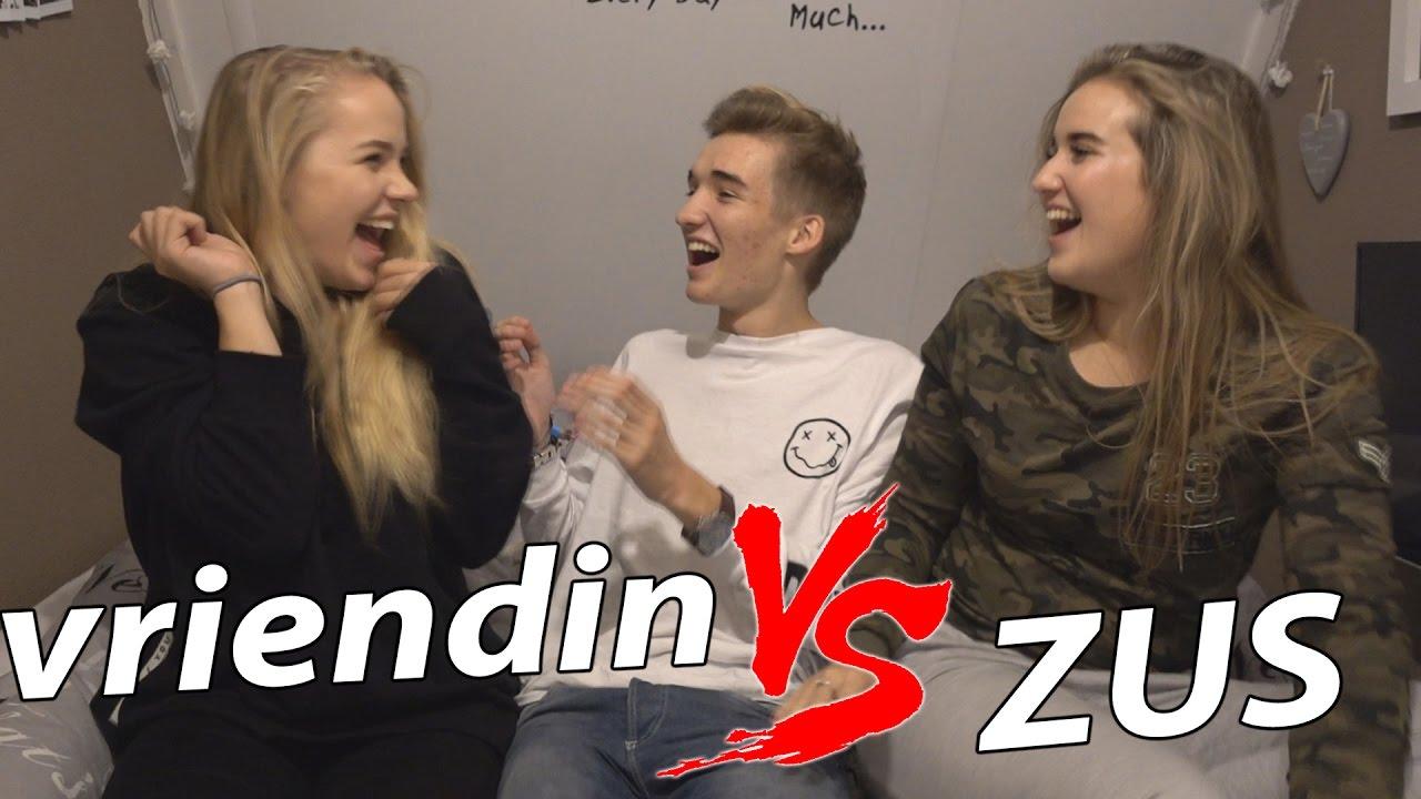 VERKERING MET MIJN ZUS NEMEN?! - VRIENDIN VS ZUS