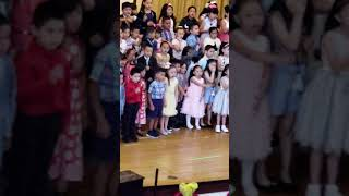 Mino's Kindergarten performance