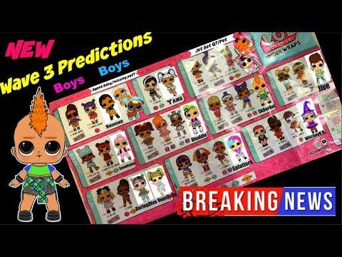 LOL Surprise dolls Series 4 Wave 3 Bigger Surprise Wigs LOL Surprise Series 4 wave 2 Under Wraps