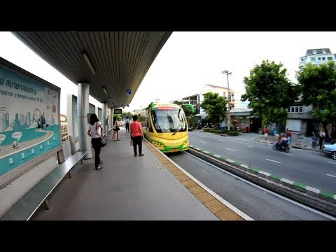 BRT - Bus Rapid Transist - Thailand Travel Guide