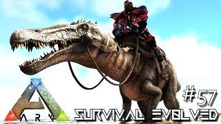 ARK: SURVIVAL EVOLVED - NEW BARYONYX TAME & MAJOR FAILS !!! E57 (MODDED ARK EXTINCTION CORE)