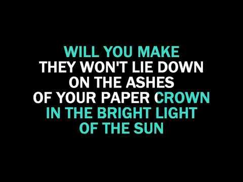 Paper Crown Karaoke Liam Gallagher