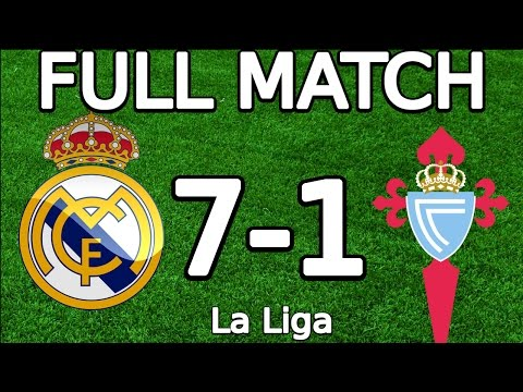 Real Madrid VS Celta Vigo 7-1 FULL MATCH 720p 05.03.2016 (La