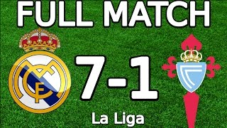 Video Real Madrid VS Celta Vigo 7-1 FULL MATCH 720p 05.03.2016 (La Liga) (ENGLISH COMMENTARY) download MP3, 3GP, MP4, WEBM, AVI, FLV April 2018