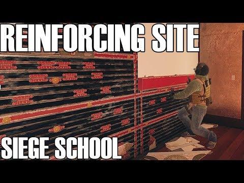 Siege School: How To Reinforce Site - Rainbow Six Siege