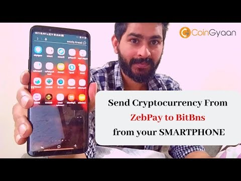 How To Transfer Cryptocurrency From Zebpay To BitBns Exchange || How To Transfer EOS From Zebpay