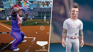CREATING PLAYER AND GETTING DRAFTED! Super Mega Baseball 2!