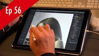 Retouching in Photoshop in iPad pro with Apple pencil and Astropad QF Ep 56(In this episode of Quite Frankly I'm showing you how to work with the iPad pro and the Apple Pencil to retouch straight into Photoshop via the app Astropad, ..., 2015-11-18T15:52:47.000Z)