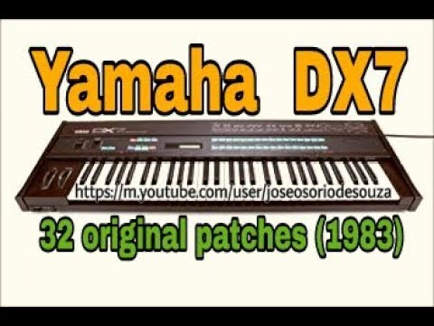 DX7 32 Original Patches (Yamaha TX7 - Zé Osório)