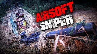 AIRSOFT SNIPER LOADOUT AUSRÜSTUNG 2018 - Ghillie, Waffe DMR Bolt MK12 Tarnung | Fritz Meinecke