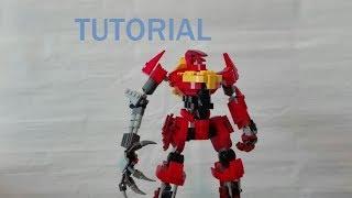 Custom LEGO CODE GEASS GUREN MK 2 Tutorial