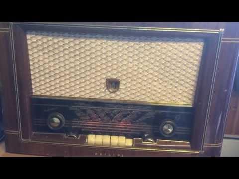 Philips  BS 551 AF 1950:s radio found and still working