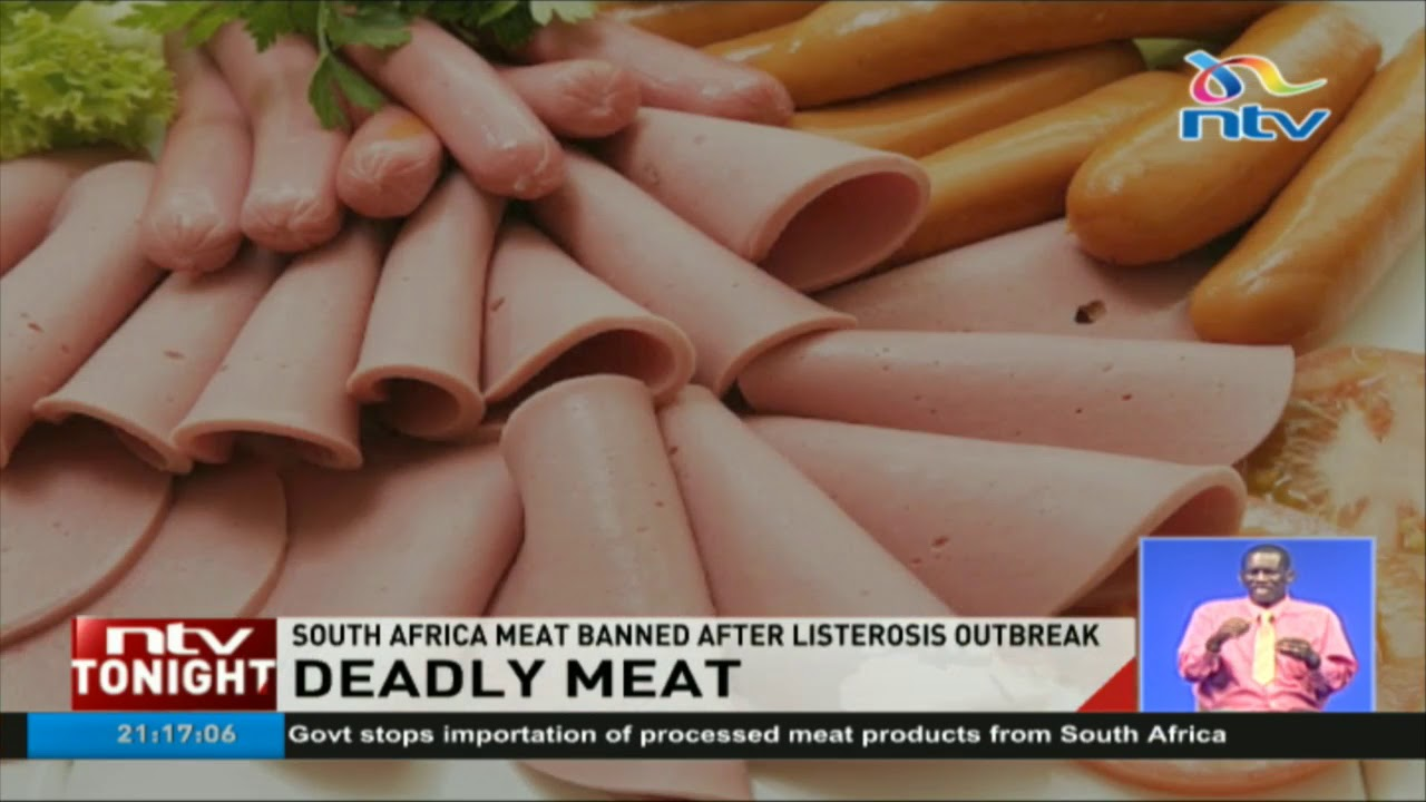 Government bans meat products from South Africa after listeriosis outbreak