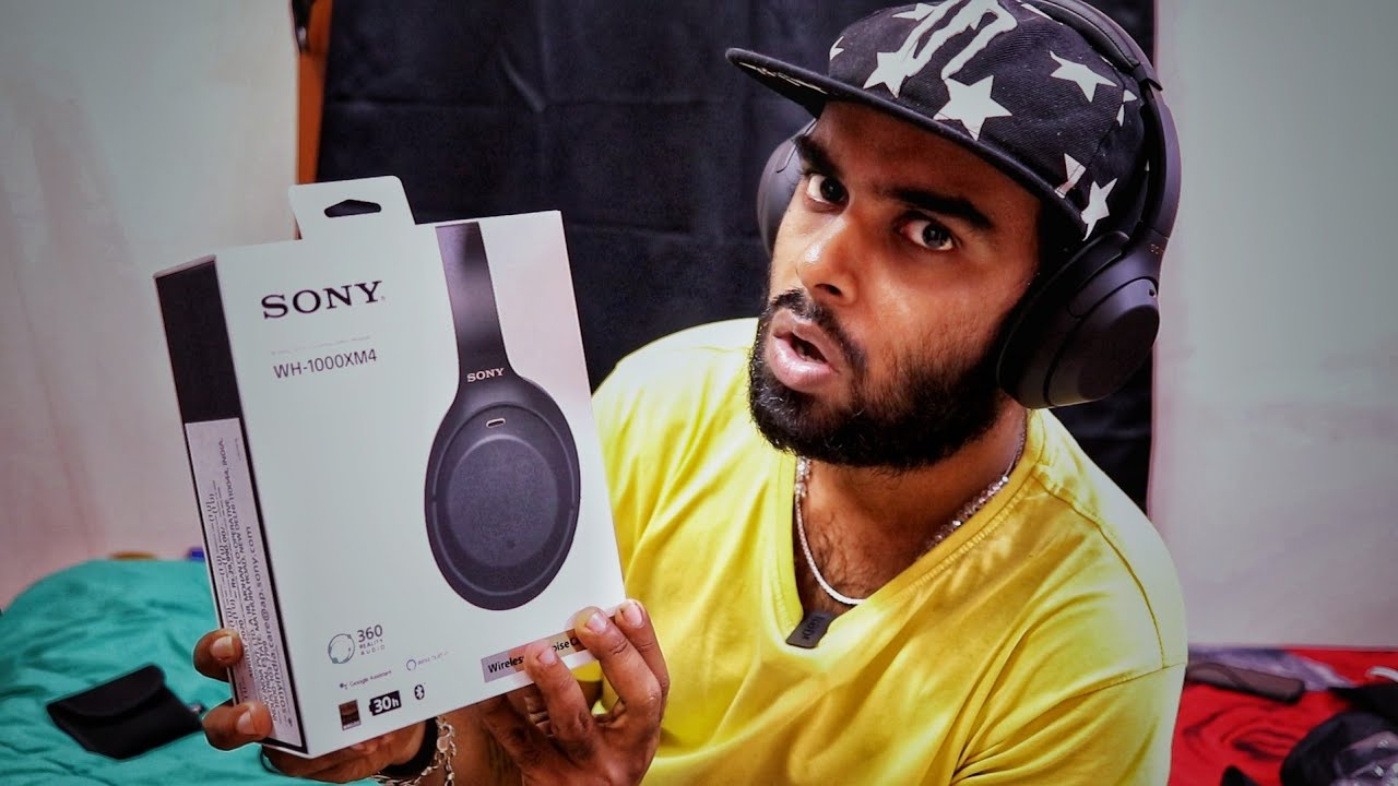 Unboxing 29,990Rs/- Sony WH-1000XM4 Headphones 😍 - Sound Quality 🔥 | Enowaytion Plus