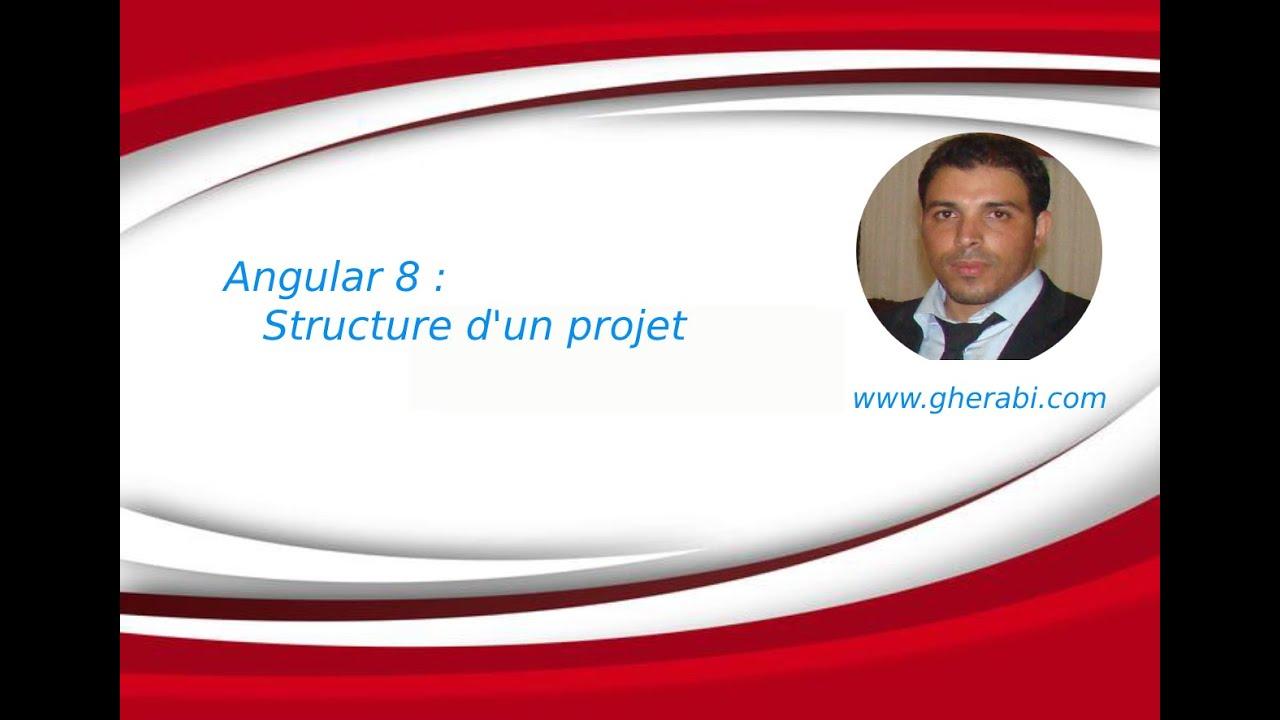 Angular 8: Structure d'un projet Angular - YouTube