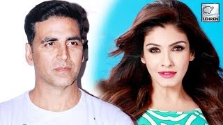 When Akshay Kumar Was CAUGHT Red Handed By Raveena Tandon?