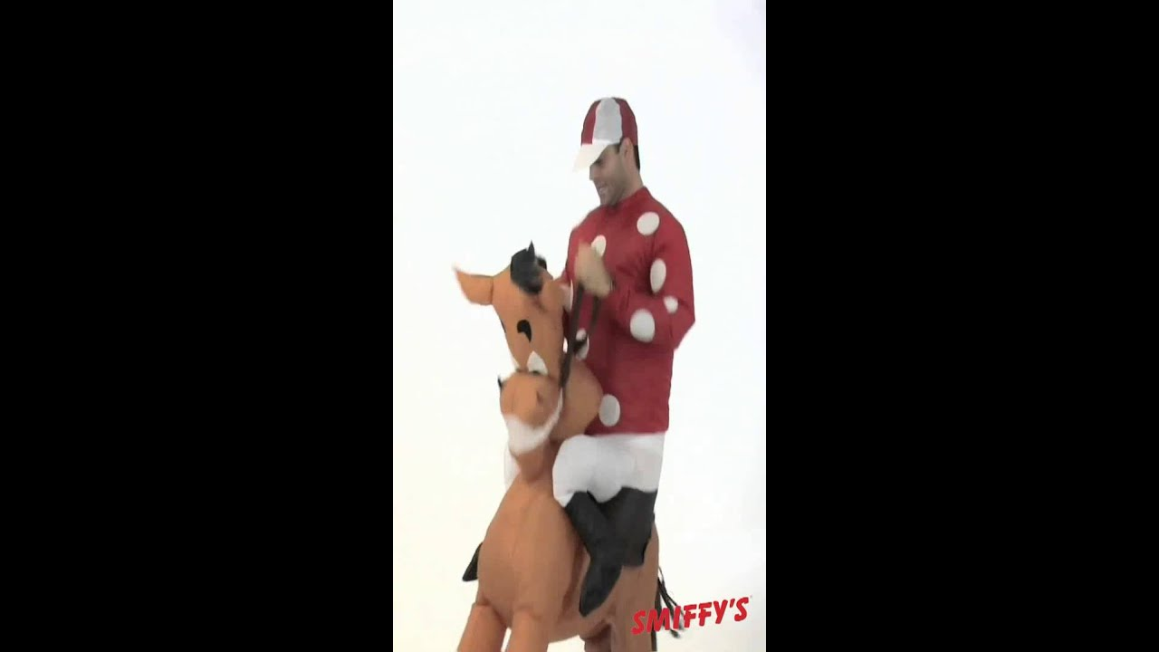 38733-Inflatable-Jockey-and-Horse-Costume-Video  sc 1 st  YouTube & 38733-Inflatable-Jockey-and-Horse-Costume-Video - YouTube