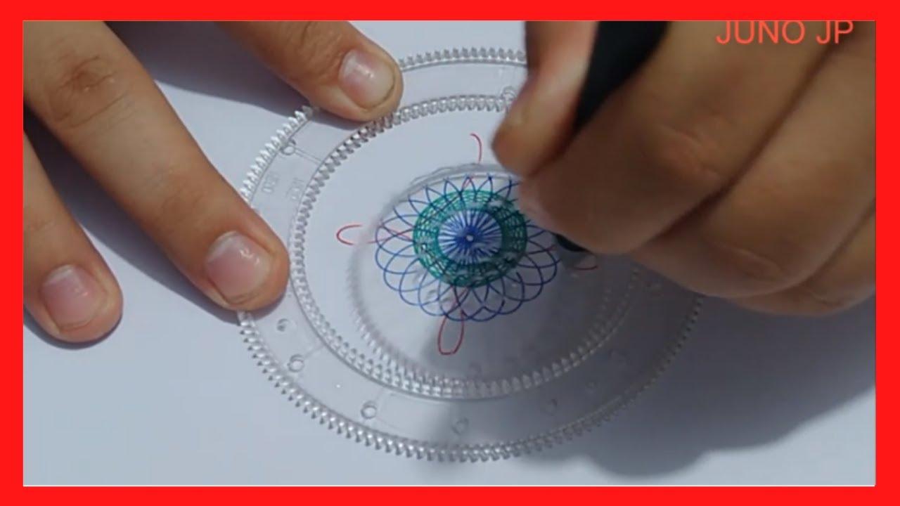 KHÔNG BIẾT VẼ CŨNG ĐẸP – Vẽ Nghệ Thuật sáng tạo Spirograph Siêu Đẹp – JUNO JP