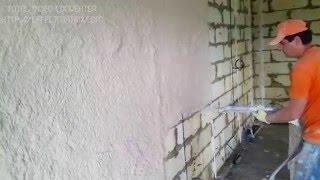 Машинная штукатурка стен гипсовой смесью Knauf MP75. Белгород. ТСК ЕвроМастер.(, 2015-07-11T21:43:02.000Z)