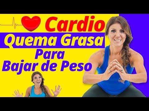 Ejercicios Para Bajar De Peso Y Cardio Quema Grasa - Entrena Con Ingrid en Casa - No Gym No Problem