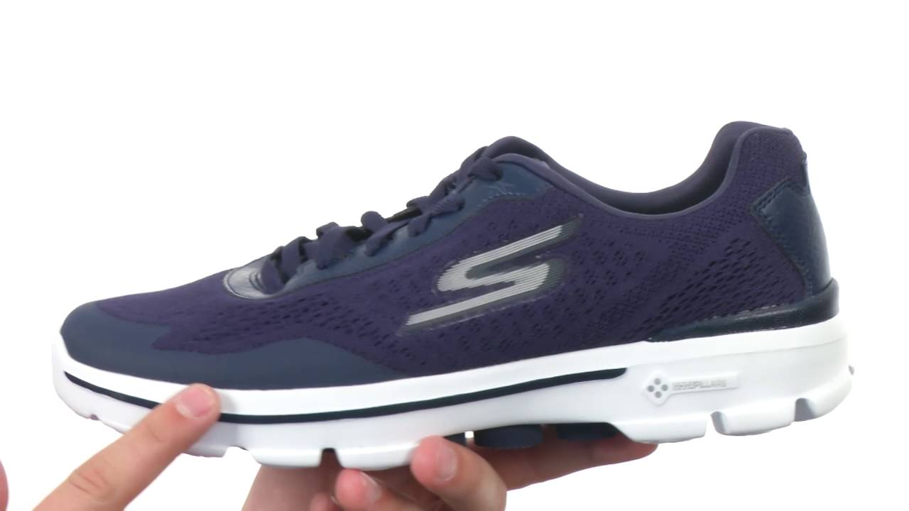SKECHERS Performance GOwalk 3 - Reaction SKU 8757770 - YouTube 38b390e73e