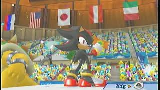 Mario and Sonic at the Winter Olympic Games Speed Skating Event