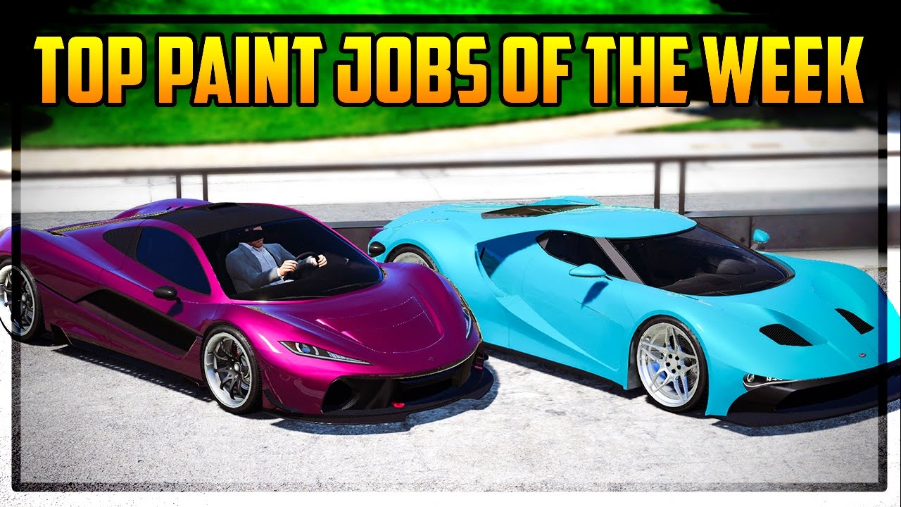 Top 7 Paint Jobs Of The Week Vice City Colors Cotton Candy Pink More You