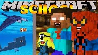 Minecraft School : AQUARIUM FIELD TRIP - SHARKS, WHALES & MORE!