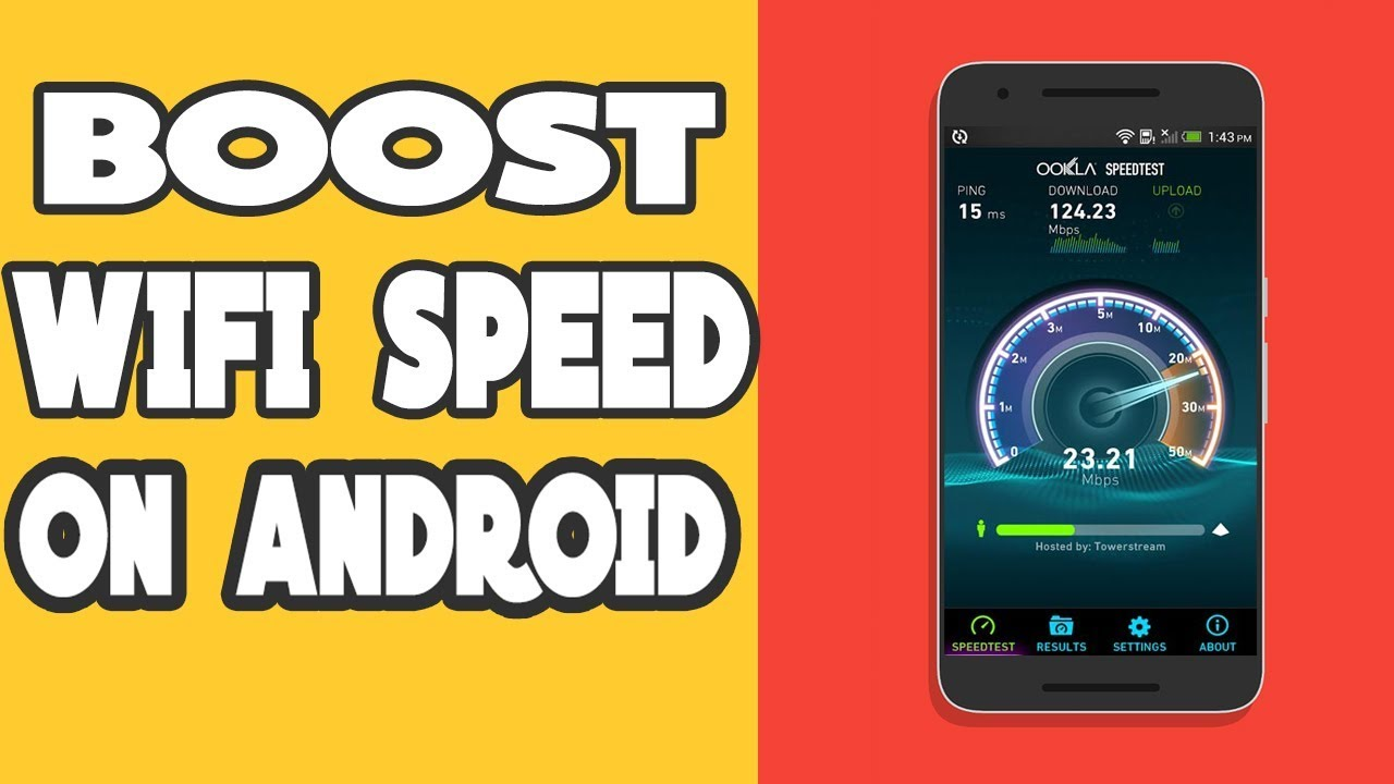 How To Increase Wifi Speed On Android No Root No App Required Boost Wifi Speed Youtube