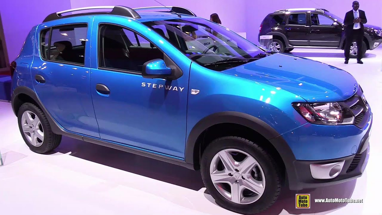 2015 dacia sandero stepway exterior and interior walkaround 2014 paris auto show youtube. Black Bedroom Furniture Sets. Home Design Ideas
