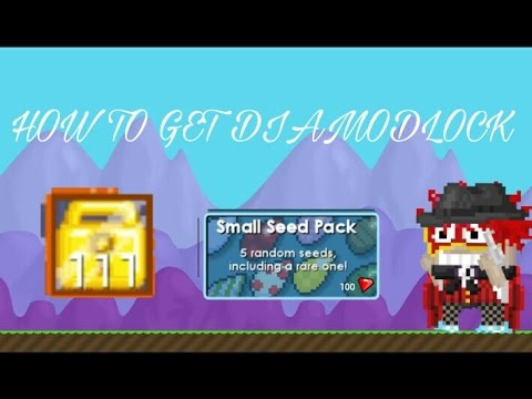 Growtopia Cara Mendapatkan Dl Diamond Lock Youtube