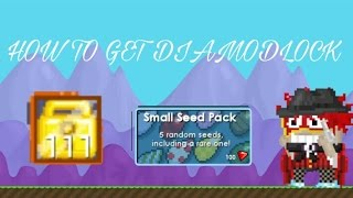 [GROWTOPIA] Cara mendapatkan Dl(Diamond Lock)